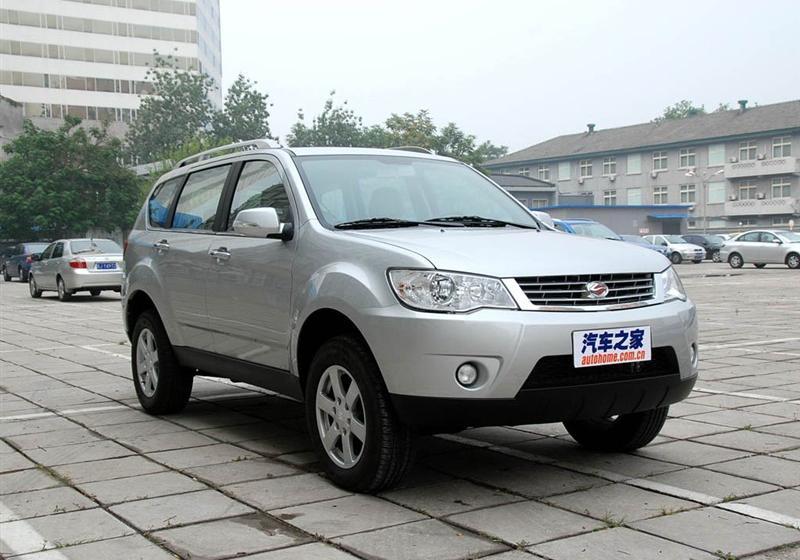 2009款2.4 汽油4X4豪华型
