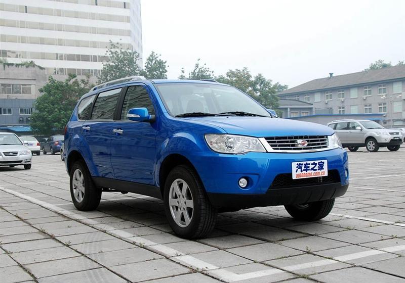 2009款2.4 汽油4X4超豪华型