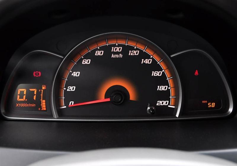 通用雪佛兰 赛欧 2010款 1.4l 手动理想版--仪表盘
