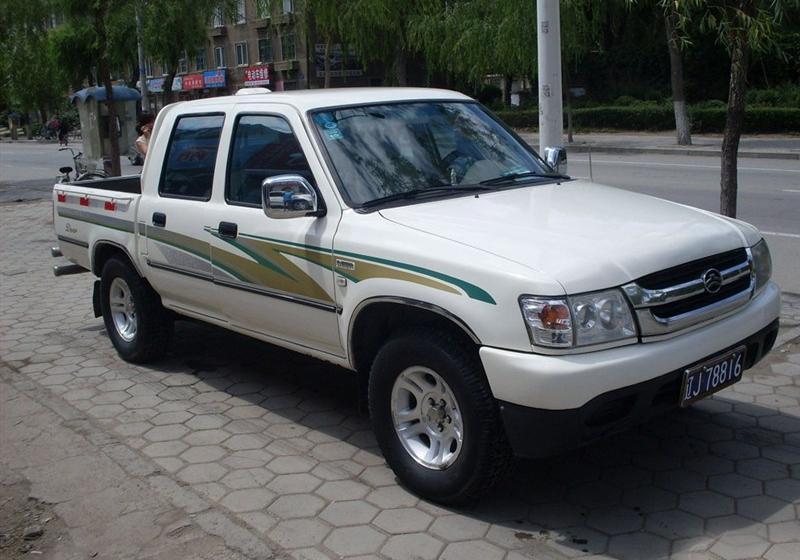 2008款2.8T豪华型小双排GW2.8TDI-2