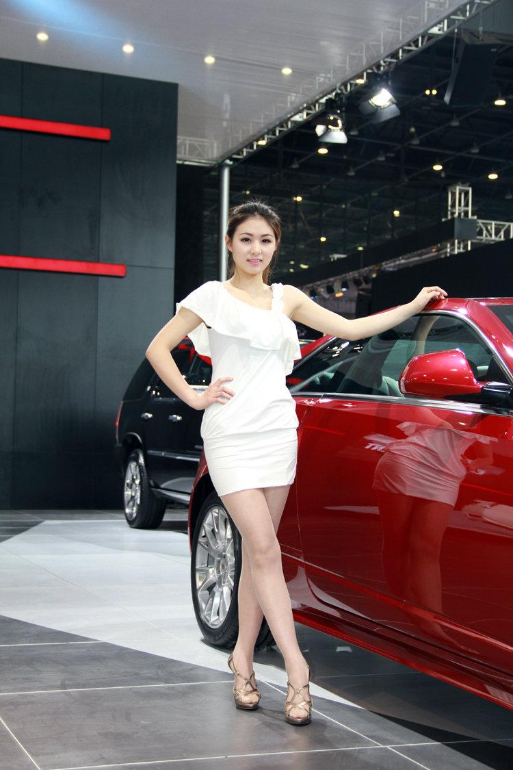 2013大河车展可人车模