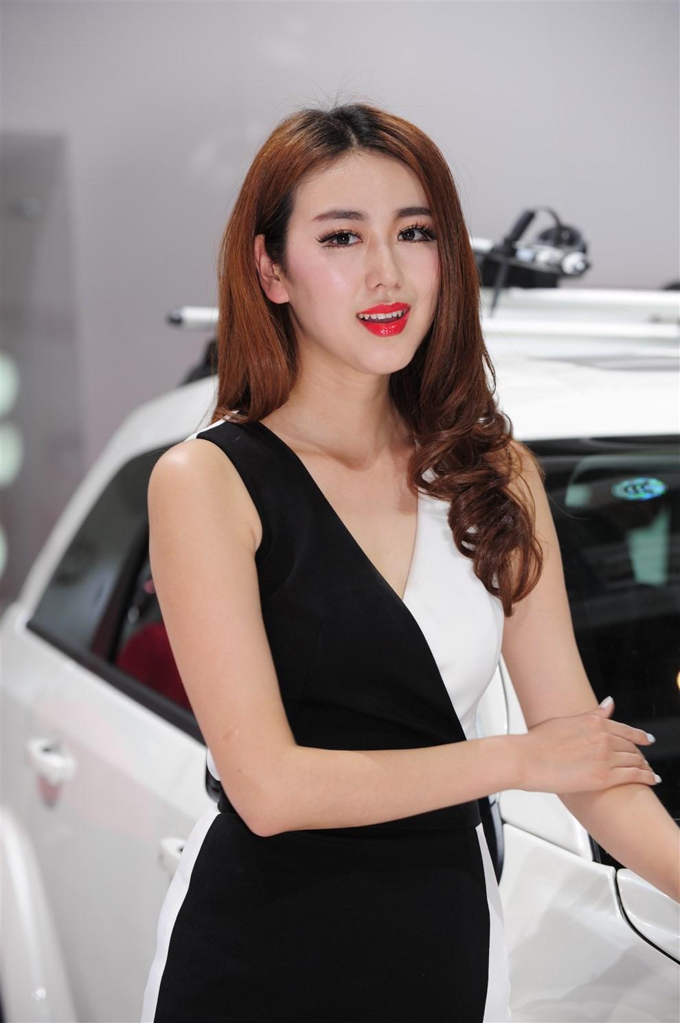 北京车展广汽菲亚特车模