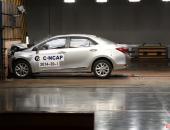 全新COROLLA卡罗拉高分摘得C-NCAP五星级安全桂冠