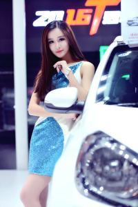 2016南京国际车展 吸睛车模集锦