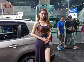 2016广州车展美女车模
