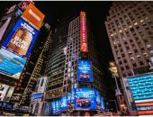 长安CX70T攻占纽约时代广场 厉害了我的长安