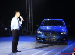 全新BMW 1系运动轿车兰州上市会完美落幕