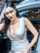 2017成都车展白裙车模