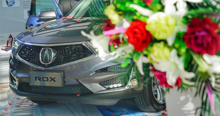 广汽Acura全新RDX强势登陆兰州